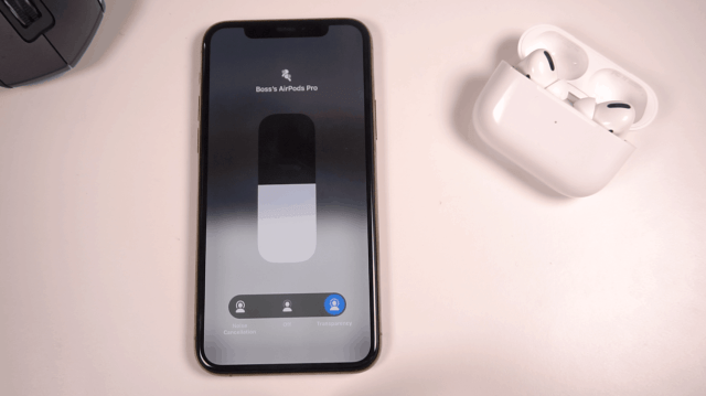 AirPods Pro Transparency Mode