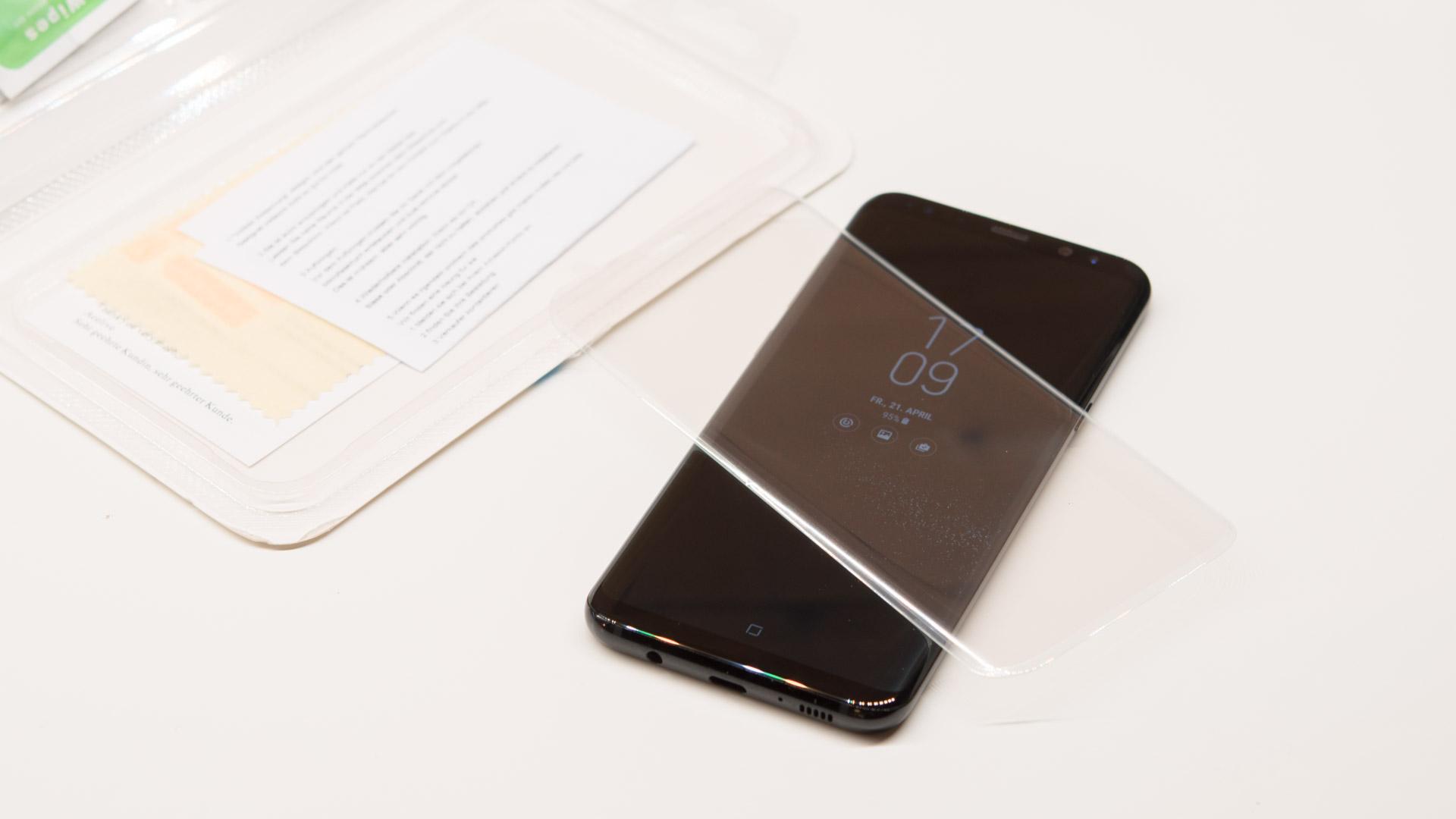 10x Displayschutz Folien Und Glaser Fur Das Samsung Galaxy S8 Plus Im Vergleich