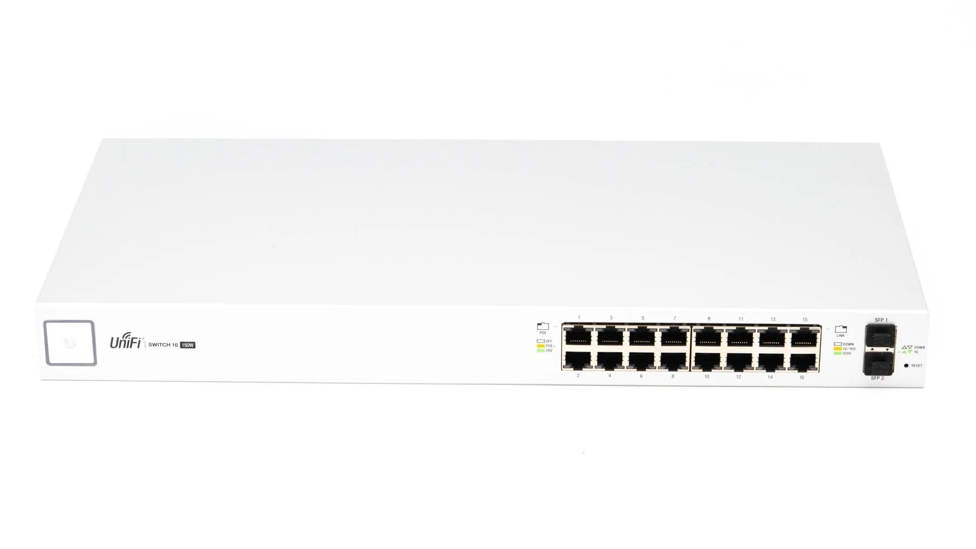 Der Ubiquiti Unifi Switch 16 Poe 150w Im Test