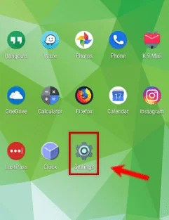 android home 1and1 email Settings For Android