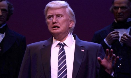 disney trump animatronic hall of presidents disney world