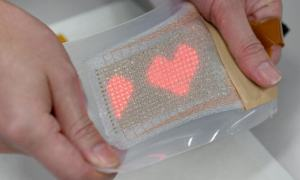 flexible skin display researchers