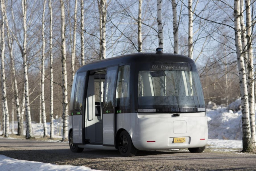 GACHA, The First Self Driving Shuttle Bus, Gets Rough Weather LiDAR - TechTheLead - Technology for tomorrow