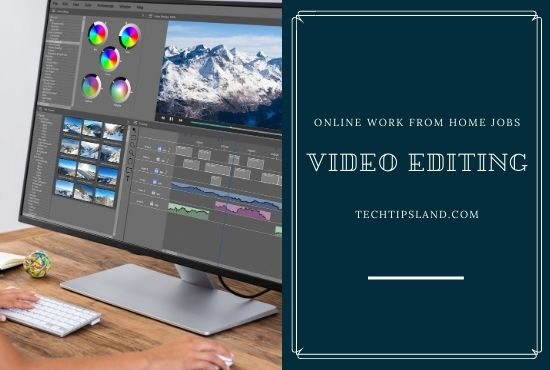 video editing online work from home jobs