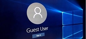 How to create a Guest User for 1 fixed user on Win 10