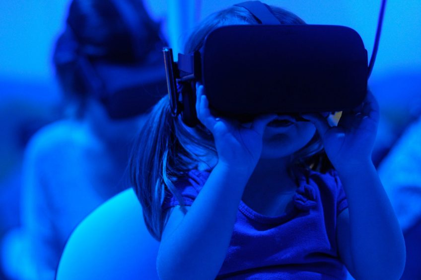 Virtual Morality: Squeakers in VR (children playing in