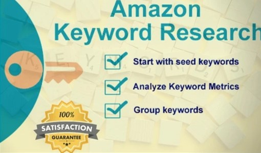 Keyword Research for amazon affiliate marketing