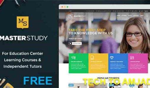 Education WordPress Premime Theme free Download | WordPress Theme