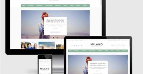 Milano Responsive Premium Blogger Template SEO Mobile friendly