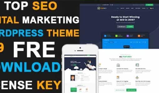 Top SEO Digital Marketing WordPress Premium Theme Free Download