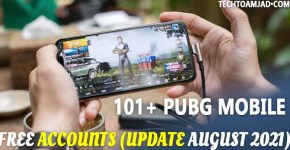 101+ PUBG Mobile Free Accounts id and password Update August 2021