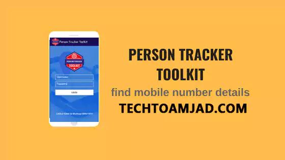 Person Tracker