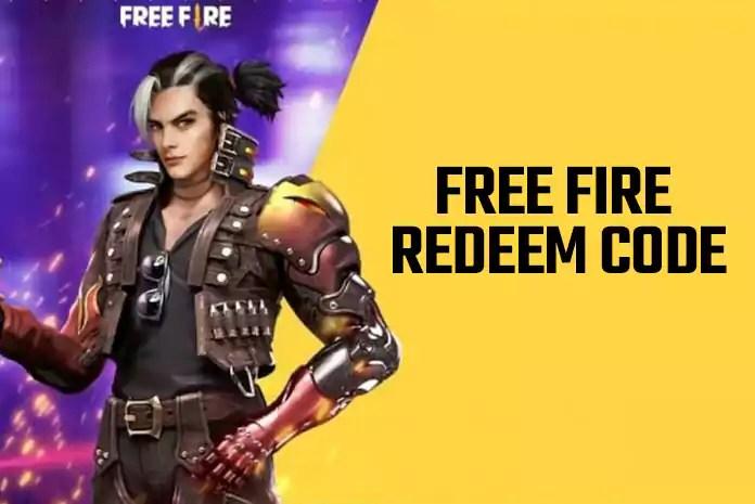 Free Fire Redeem Code Today (October 2021) Garena FF Redeem Code