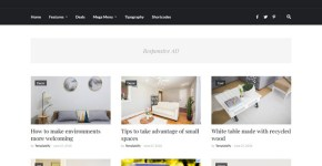 Helvetica Blogger Template Free Download