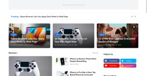 LiteSpot Responsive News & Magazine Blogger Template Free Download