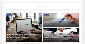 OnePress - Responsive Magazine & News Blogger Template Free Download