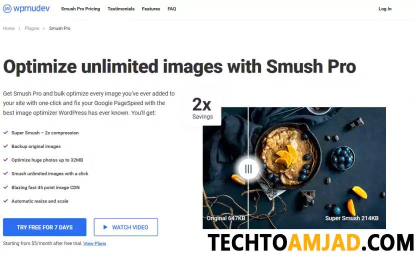 WP Smush Pro Plugin Latest Version Free Download