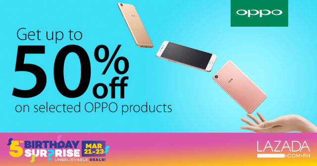 OPPO joins Lazada anniversary for the hottest summer sale