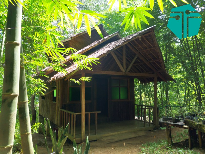 A photo of one of the indigenous houses within the Capiz Eco Park.  This Photo was taken during our Capture Capiz and Iloilo Tour.