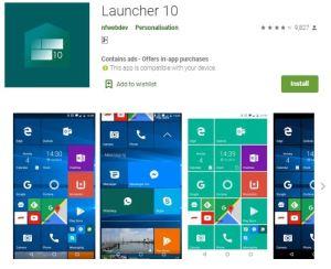Launcher10. best launcher for 2020. https://techtool360.com
