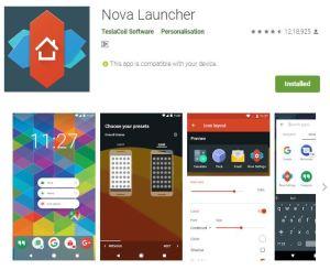 Nova launcher. best launcher for 2020. https://techtool360.com
