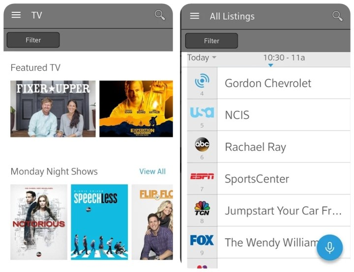 download Xfinity TV Remote for pc app shows