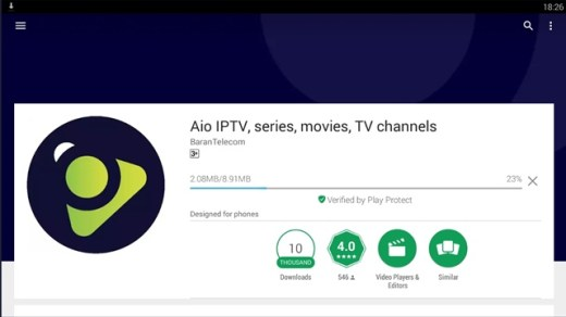 aio iptv for pc