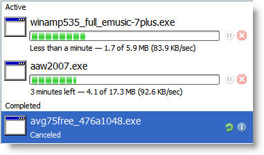 Firefox 3 Download Manager