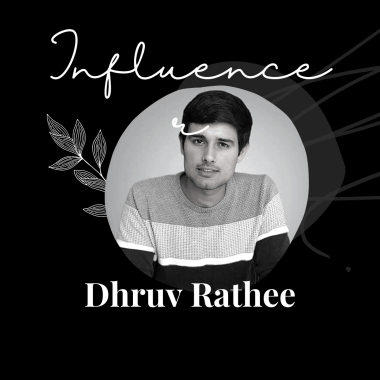 best indian influencers for self growth - Dhruv Rathee