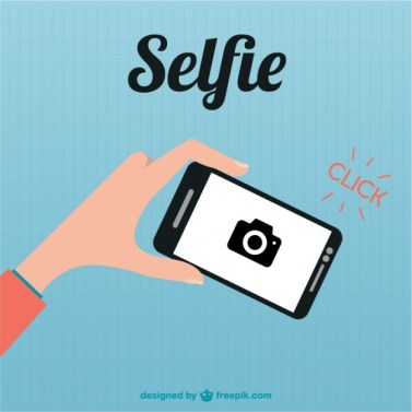 smartphone-selfie-flat-illustration_23-2147494734