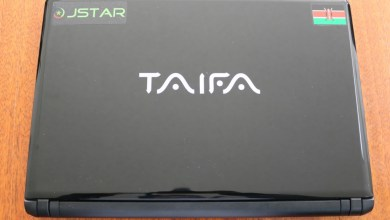 Photo of Taifa, Kenya's first locally assembled laptop launched