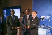 Photo of President Uhuru Kenyatta wins 'The ICTs in Sustainable Development Award' at UN Headquarters