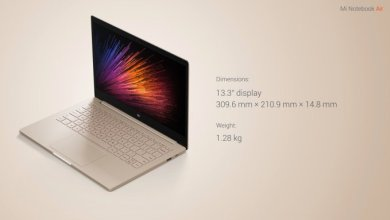Photo of Here's the Mi Notebook Air, Xiaomi's First Laptop