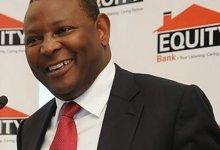 Equity Bank CEO James Mwangi. Equity Bank has today announced that it has adjusted its interest rates to 14.5% p.a