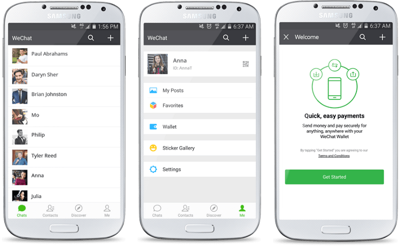 Wechat Wallet in South Africa