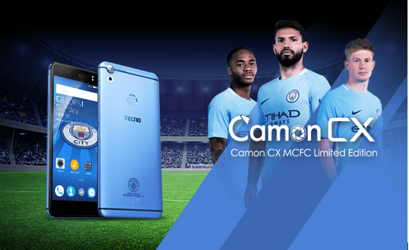 Camon CX Manchester City Limited Edition Smartphone