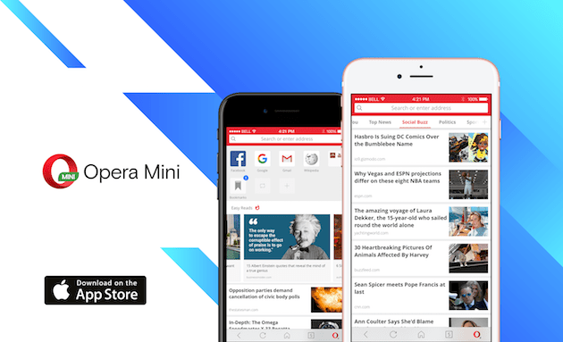 Opera rolls out new Opera Mini iOS for iPhone users