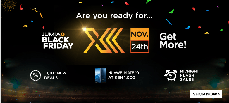 #BlackFriday: Jumia Kenya Promises Best And Competitive Prices