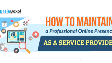 Photo of Infographic: How to Maintain a Professional Online Presence as a Service Provider