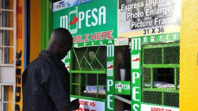 Safaricom MPESA shop