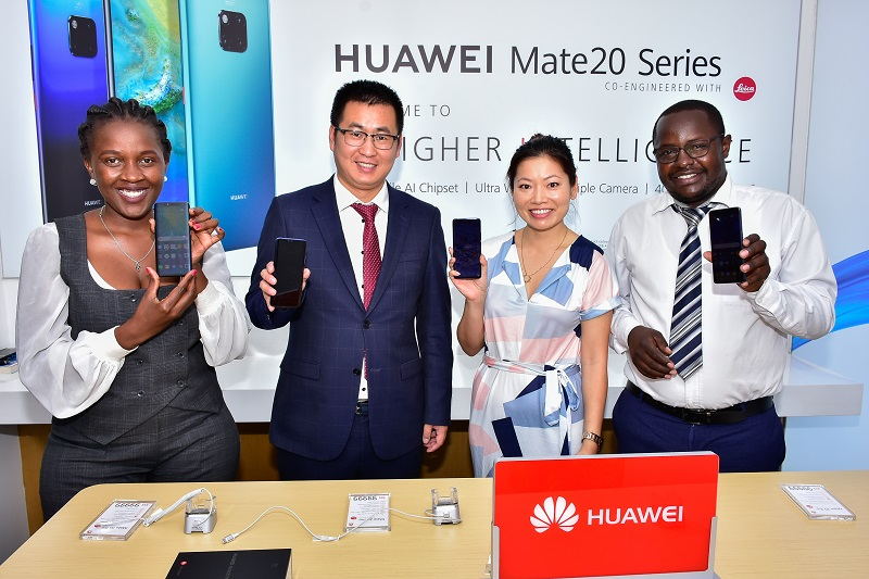 Huawei has officially unveiled the Mate 20 and Mate 20 Pro in Kenya