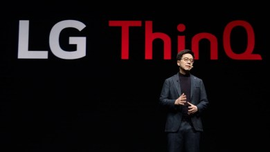 ThinQ AI announcement at CES 2019