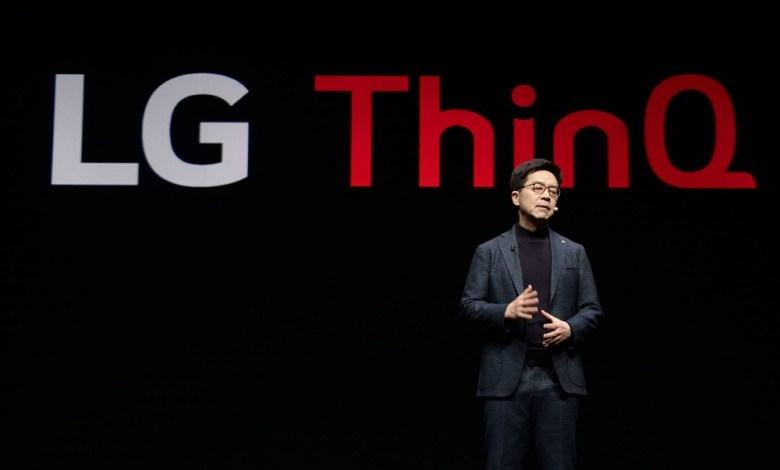 ThinQ AI announcement at CES 2019
