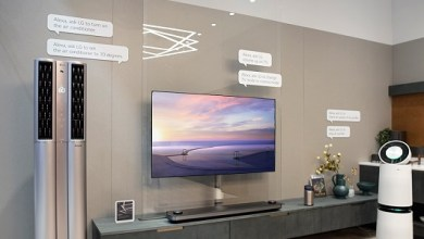LG AI powered OLED TV