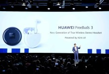 Huawei Freebuds 3 unveiled