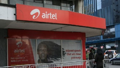 An Airtel shop in Nairobi. Airtel Kenya now has a Data Management feature. Photo/Business Daily