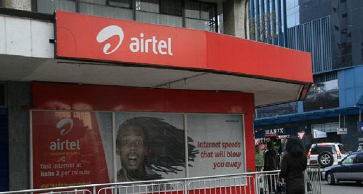 An Airtel shop in Nairobi. Airtel Kenya now has a Data Management feature. Photo/Business Daily