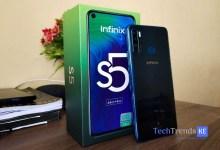 Photo of Infinix S5 Unboxing
