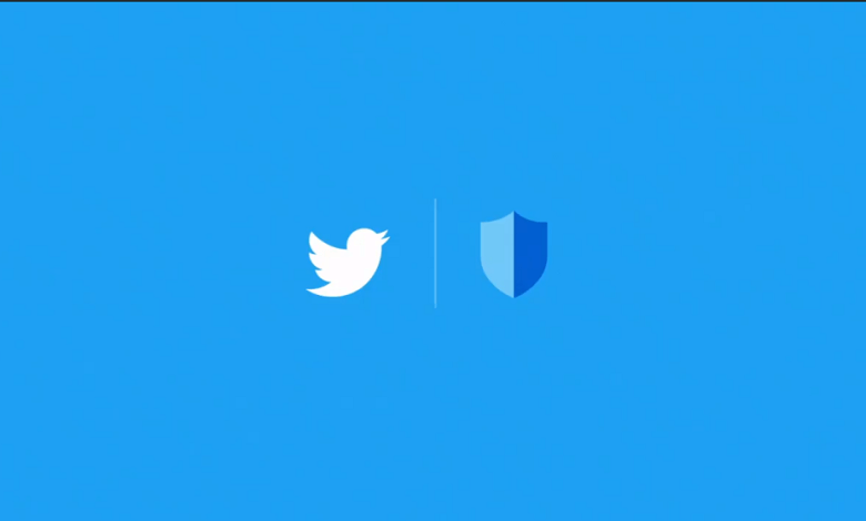 Twitter logo with safety badge