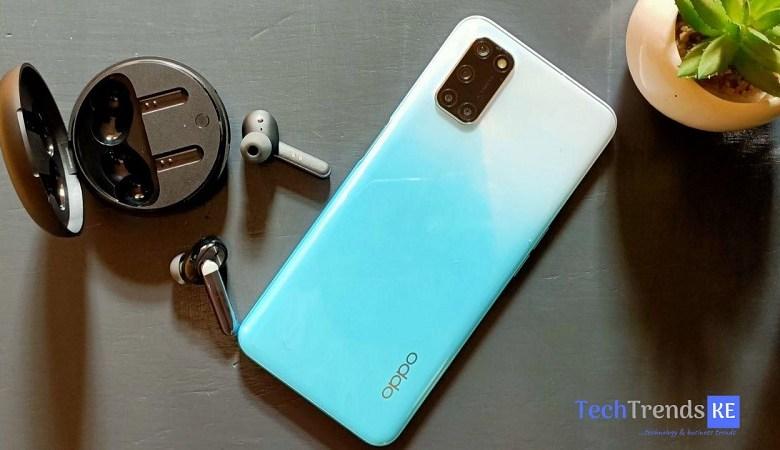 OPPO Enco W31 Earphones Bundled with Oppo A92